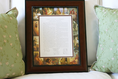 Super Saturday Craft Ideas   The Living Christ Picture Frame