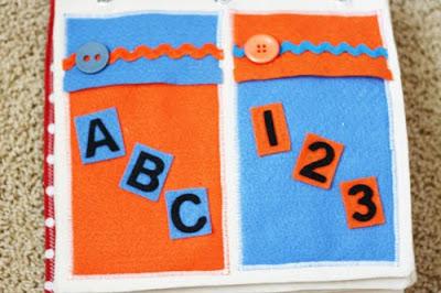 DIY Quiet Book | ABCs