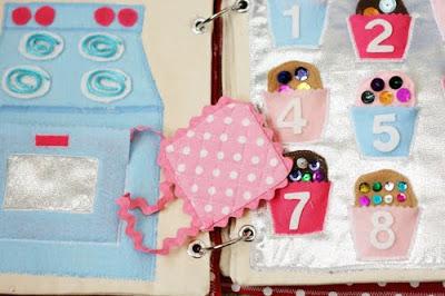 DIY Quiet Book | Cupcakes