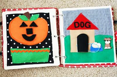 DIY Quiet Book | Dog House
