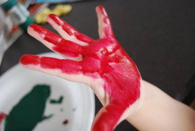 Christmas Handprint Ornament | Kids Craft | Kids Gift | Handprint Craft