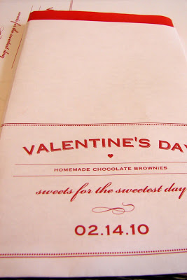 Valentine Brownie Treats