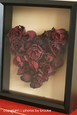 Rose Heart Shadow Box