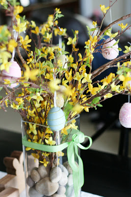 DIY Spring and Easter Centerpiece | Easter Tree