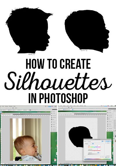 how to make a silhouette in photoshop cs6