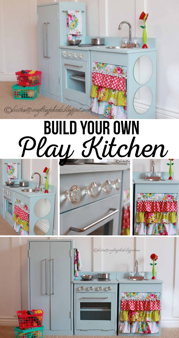 Build Your Own Play Kitchen DIY Play Kitchen | DIY Wood Projects