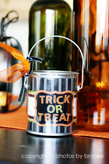 Paint Can Halloween Bucket