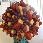 Homemade Fruit Bouquet