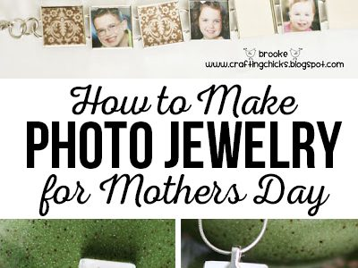 DIY Personalized Photo Jewelry