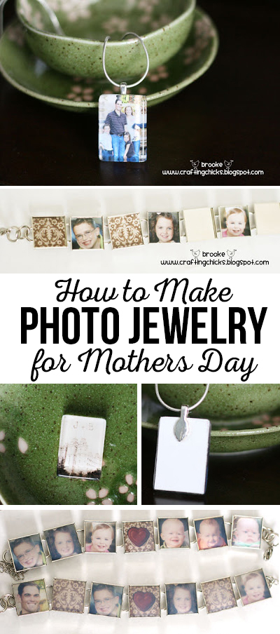 How to Make Photo Jewelry for Mother's Day