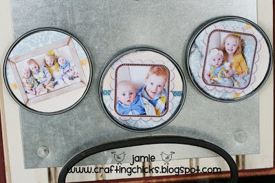 DIY Photo Magnets