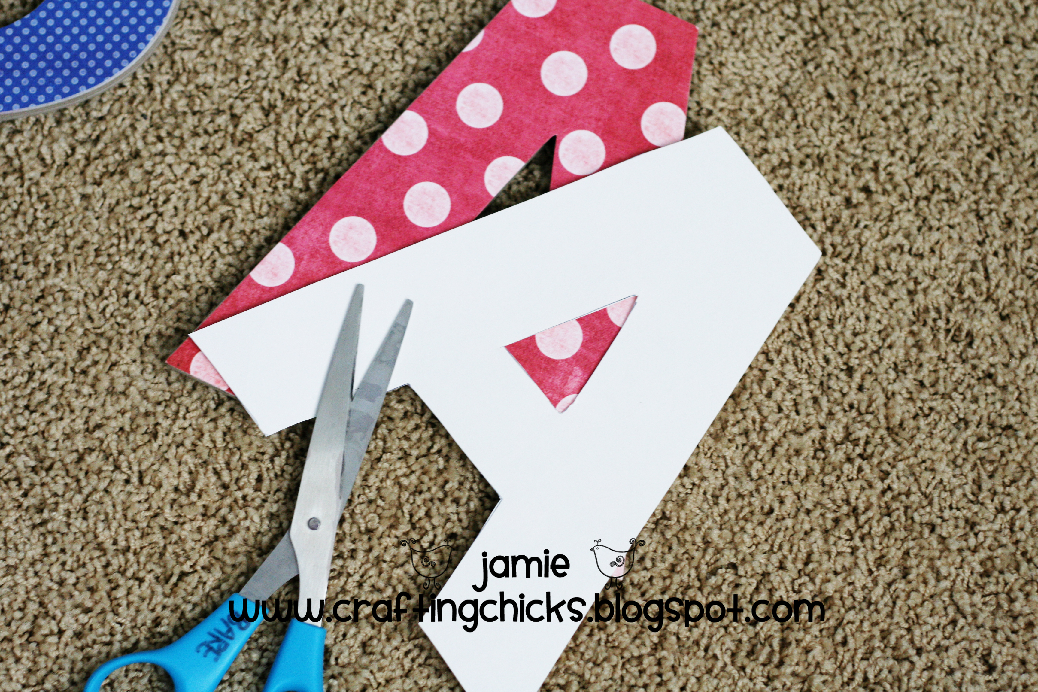 how to cut thermocol letters