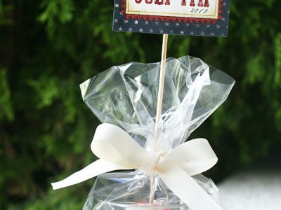 4th of July Cupcake Gifts & Free Printable
