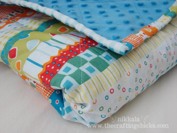 minky baby quilt