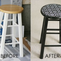 beforeafter-modpodge-fabric-barstool