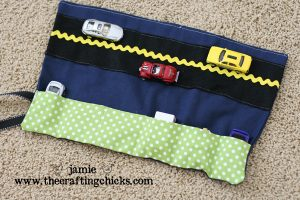 car cozy for crafting chicks 1