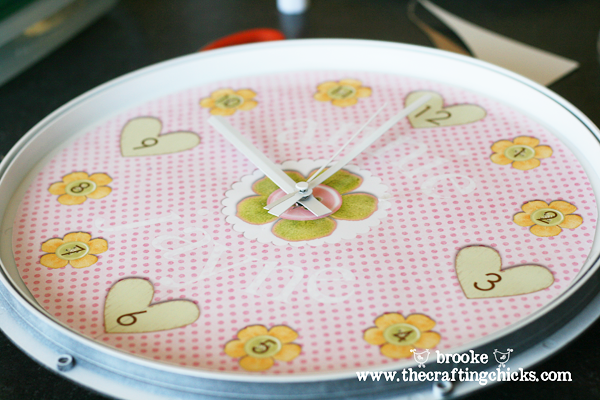 Design Your Own Clock - The Crafting Chicks