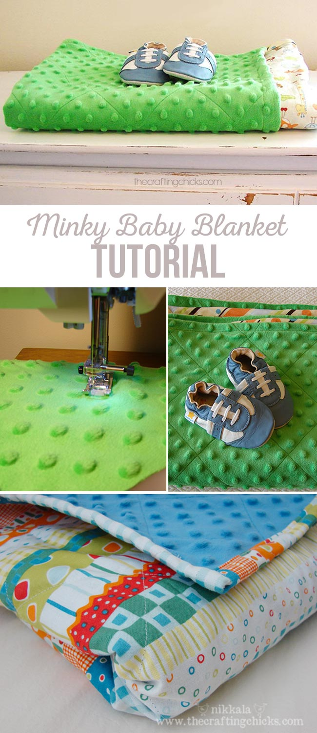 How to make the perfect minky baby blanket