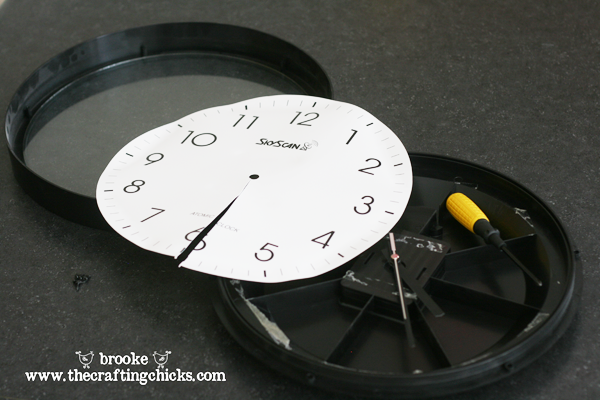 old-clock taken apart