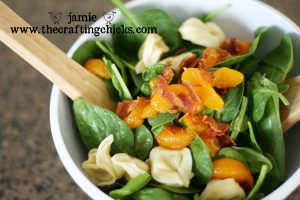 spinich summer salad 1