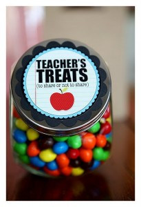 teacher treat jar @eighteen25