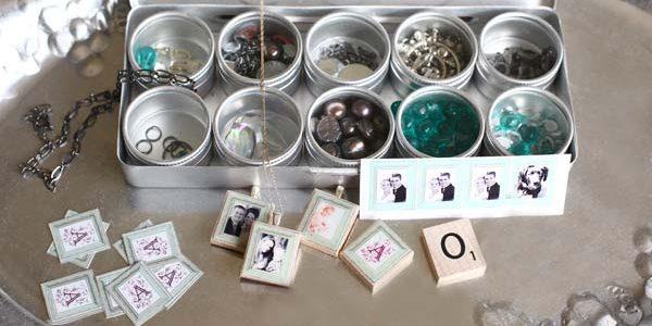 Scrabble Tile Necklace & PHOTOSHOP Tutorial