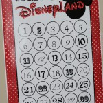 {DisneyLand Countdown & Free Template}