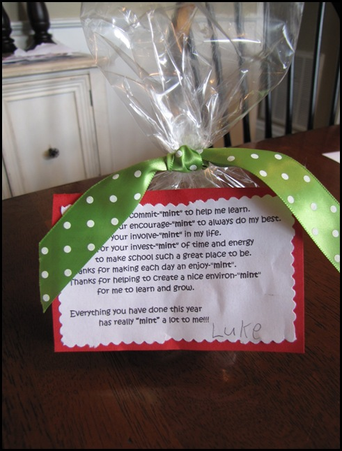 Teacher's Gift Ideas - The Crafting Chicks