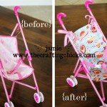 {Revamped Sassy Doll Stroller-Tuesday Tip}