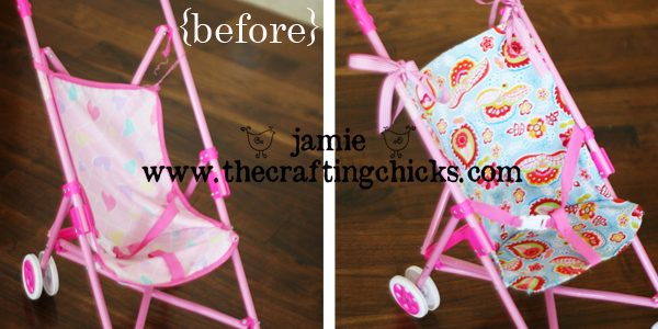 Revamped Sassy Doll Stroller-Tuesday Tip