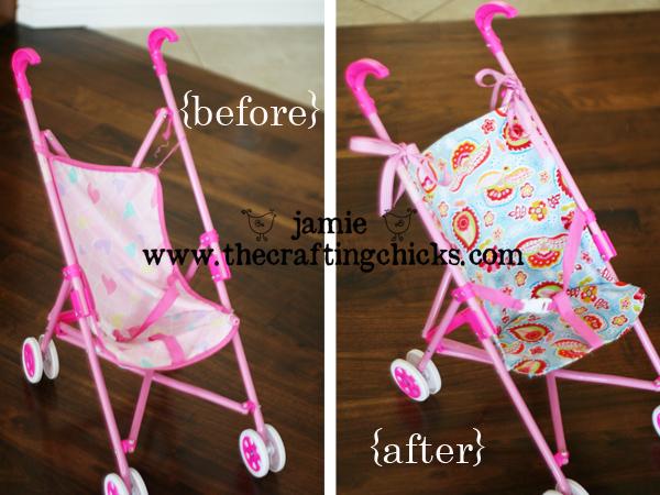 Revamped Sassy Doll Stroller-Tuesday Tip
