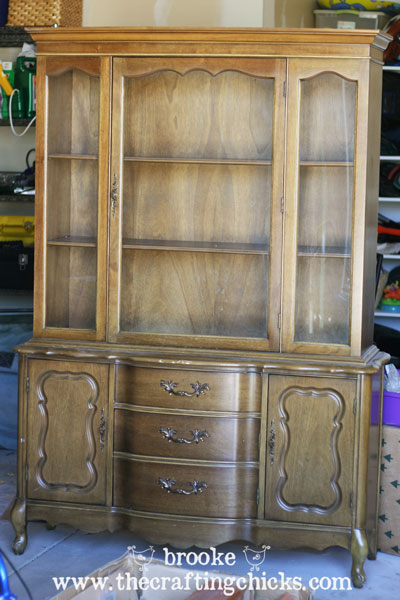 ... Dining Room Hutch Makeover: And ...