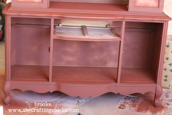 DIY Dining Room Hutch Makeover