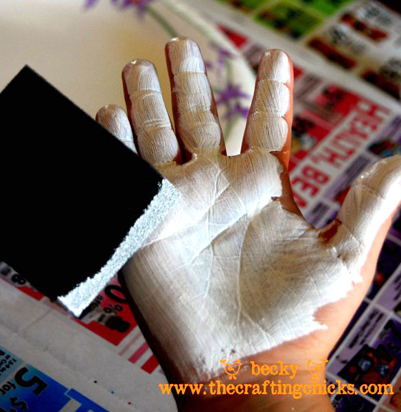 painted-hand-