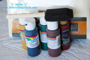 Turkey Handprint supplies