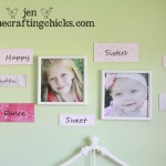 {Personalized Decor – Sweet Wall Words}