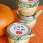 Mini Pots of Pumpkin Cream Pie