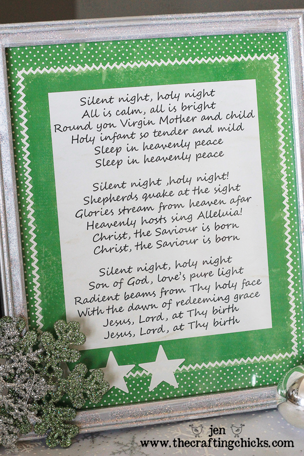 {My Favorite Christmas Song as Decor + A Free Download}