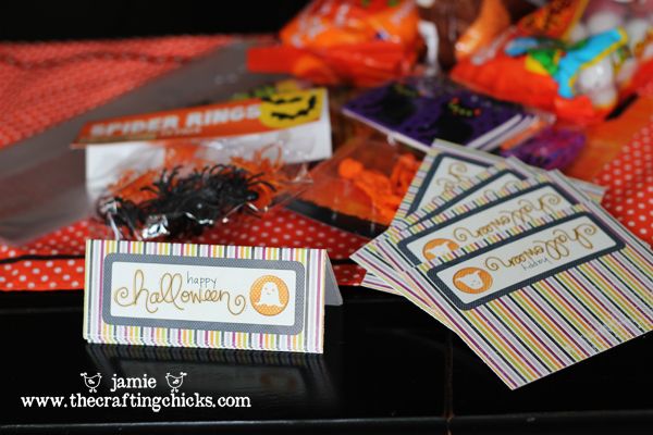Halloween Treat Topper Tags