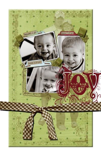 Christmas card ideas with a twist the crafting chicks for Photoshop christmas card ideas