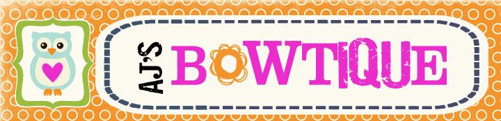 {AJ's Bowtique Giveaway}