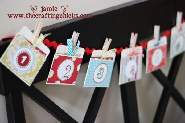 Christmas Countdown Garland + Free Download