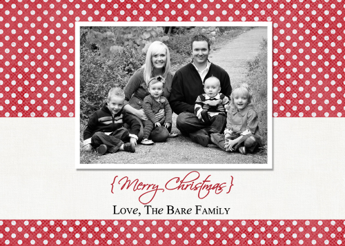 Digital Christmas Cards + Free Template Downloads} - The Crafting