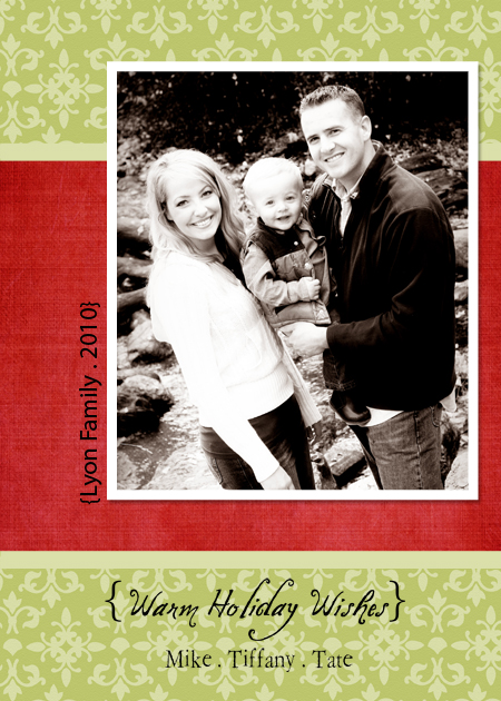 Digital Christmas Cards + Free Template Downloads} - The Crafting ...