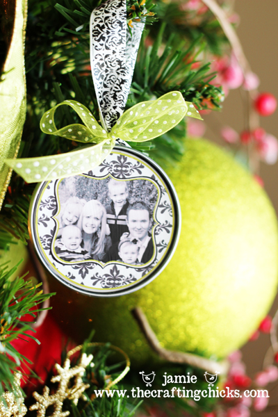 DIY Photo Christmas Ornaments