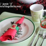 {Christmas Morning Breakfast + Felt Reindeer Napkin Rings}