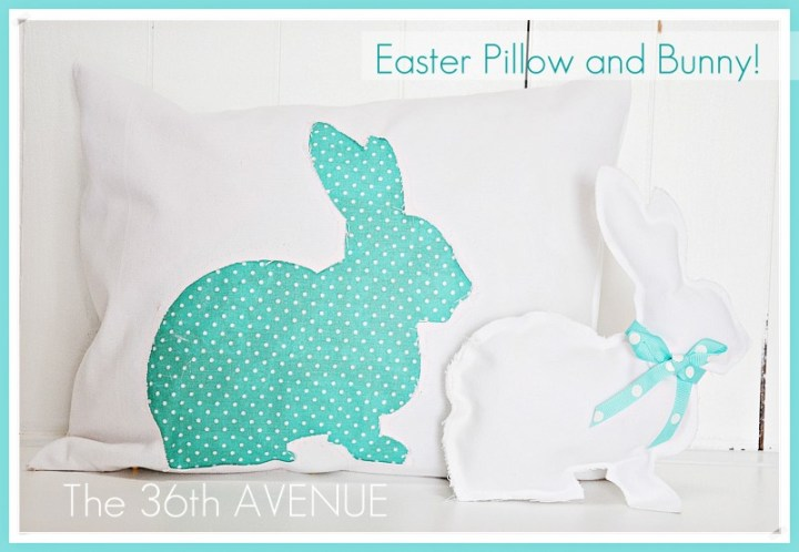 Make a Spring Bunny Pillow