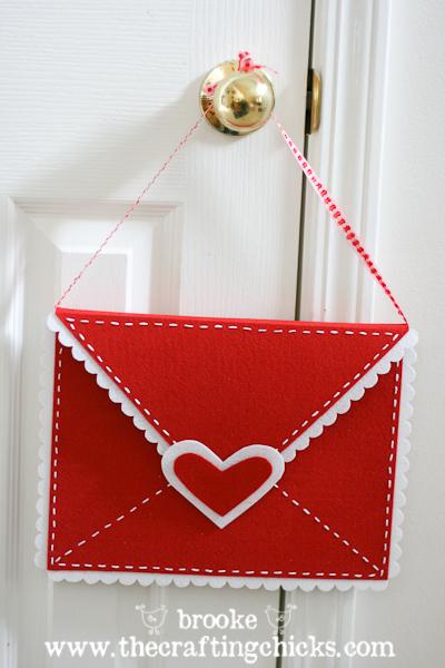 Felt Valentine Envelopes