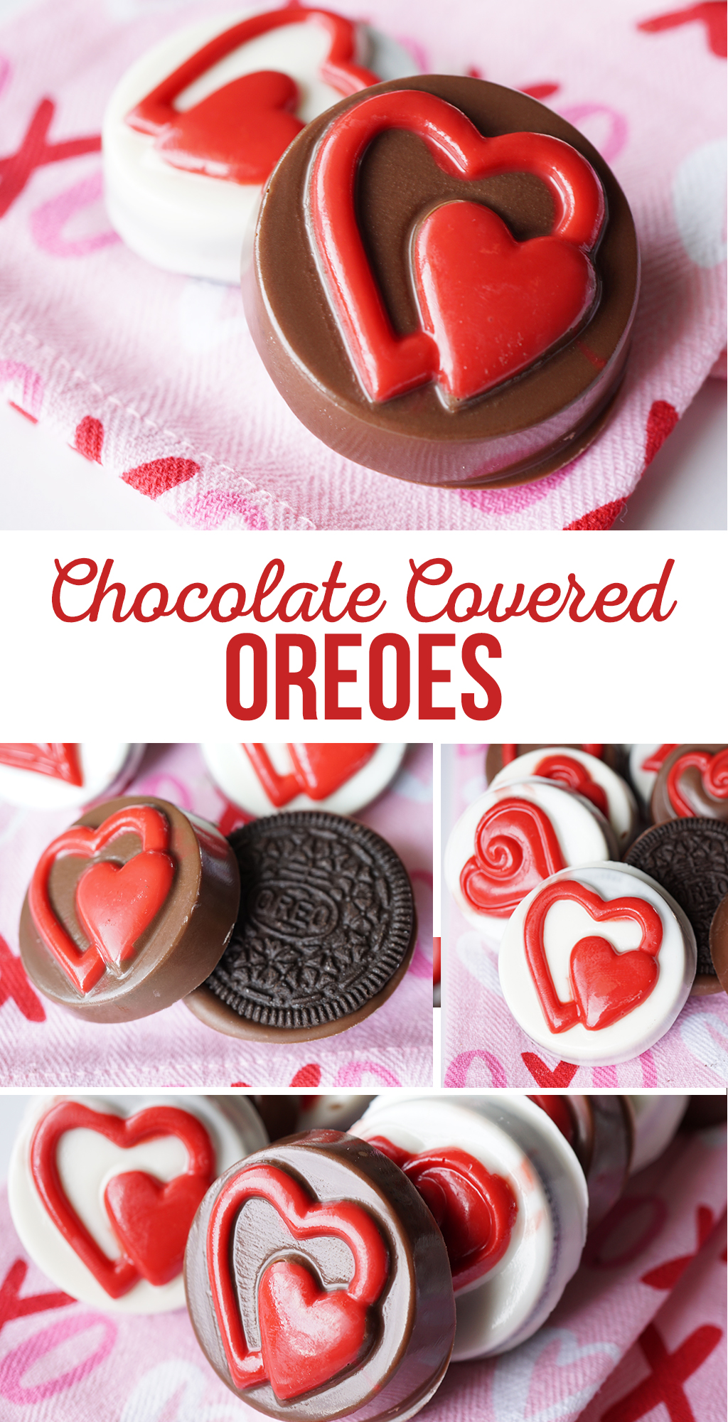Chocolate Covered Oreos Valentine