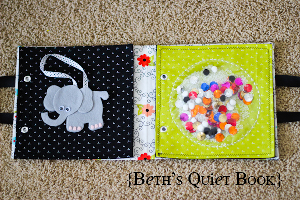 Felt Book Cover Pattern ~ Beth s adorable felt book for baby the crafting chicks